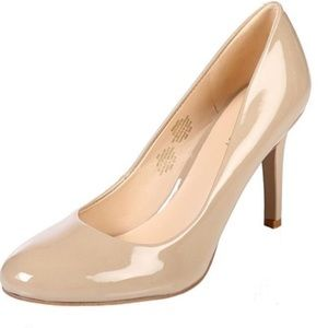 Nine West Taupe Caress Pump